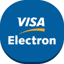 128x128px size png icon of visa electron