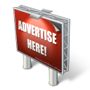 128x128px size png icon of advertising