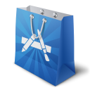 128x128px size png icon of apple appstore