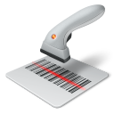 128x128px size png icon of bar code