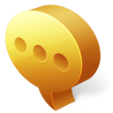 128x128px size png icon of comments