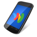 128x128px size png icon of google wallet 2