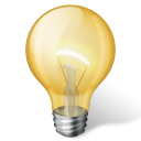 128x128px size png icon of idea