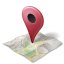 128x128px size png icon of maps