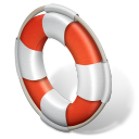 128x128px size png icon of support