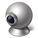 128x128px size png icon of video call cam