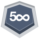 128x128px size png icon of 500