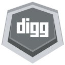 128x128px size png icon of Digg