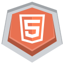 128x128px size png icon of HTML5