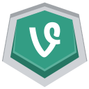 128x128px size png icon of Vine