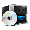 128x128px size png icon of CD Rom