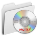 128x128px size png icon of Folder CDMasters