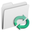 128x128px size png icon of Folder Loops