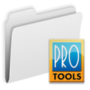 128x128px size png icon of Folder ProTools