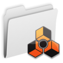 128x128px size png icon of Folder Reason