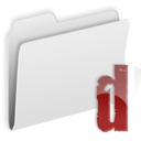 128x128px size png icon of Folder d