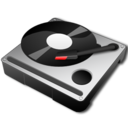 128x128px size png icon of Hard Turntable