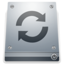 128x128px size png icon of 1 Drive Restore