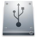 128x128px size png icon of 1 Drive USB