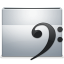 128x128px size png icon of 1 Folder Music