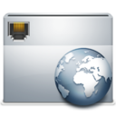 128x128px size png icon of 1 Folder Network