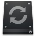 128x128px size png icon of 2 Drive Restore