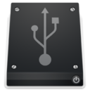 128x128px size png icon of 2 Drive USB
