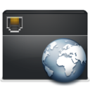 128x128px size png icon of 2 Folder Network