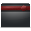 128x128px size png icon of 2 Folder Ribbon