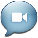 128x128px size png icon of Chat
