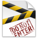 128x128px size png icon of Secret File