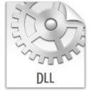 128x128px size png icon of z File DLL