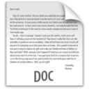 128x128px size png icon of z File DOC