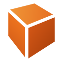 128x128px size png icon of Actions draw cuboid