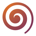 128x128px size png icon of Actions draw spiral