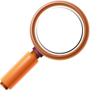 128x128px size png icon of Actions find