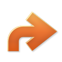 128x128px size png icon of Actions redo