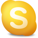 128x128px size png icon of Actions skype contact not available