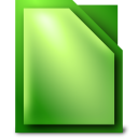 128x128px size png icon of Apps libreoffice calc