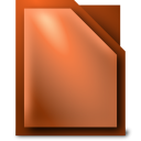 128x128px size png icon of Apps libreoffice impress