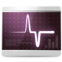 128x128px size png icon of Apps scan monitor