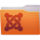 128x128px size png icon of Places folder joomla