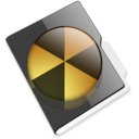 128x128px size png icon of Burnable folder