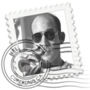 128x128px size png icon of Hunter S. Thompson Mai