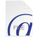128x128px size png icon of Internet Location File