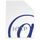 128x128px size png icon of Internet Location HTTP