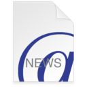 128x128px size png icon of Internet Location NEWS