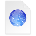 128x128px size png icon of christmas internet Document