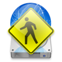 128x128px size png icon of iDisk User light