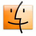15 Orange Finder Icon